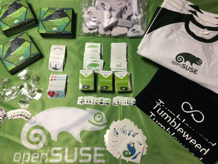 openSUSE official marketing materials