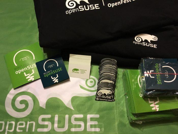 openSUSE local marketing materials